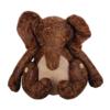 Elephant Faux Leather Doorstop Large