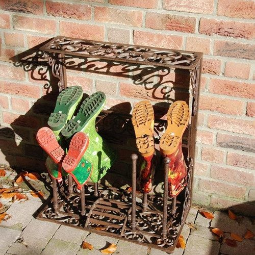 Large Victorian Boot Rack