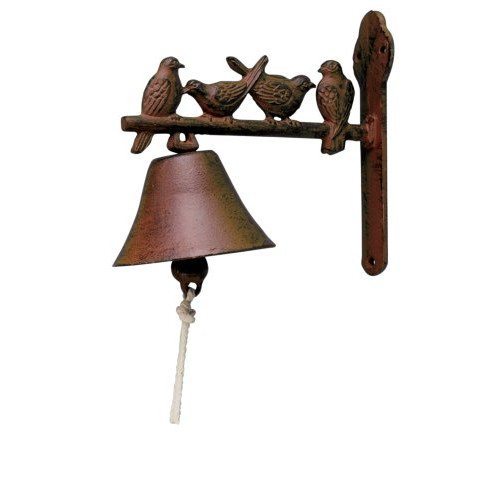 Cast Iron Singing Birds Doorbell