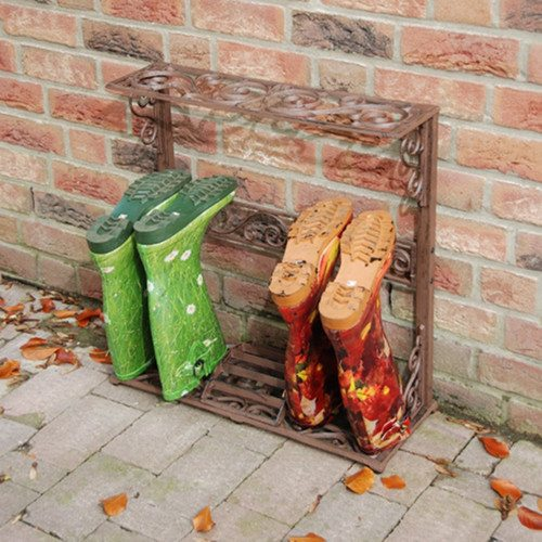 Small Victorian Boot Rack