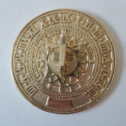 Solid Polished Brass 'Only Count Your Sunny Hours' Sundial - 125mm