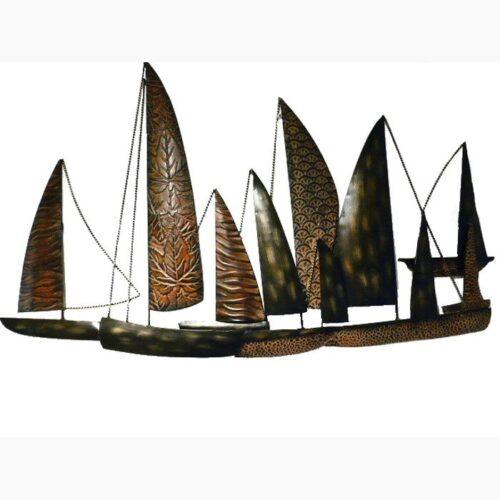Fleet Of Boats Wall Art