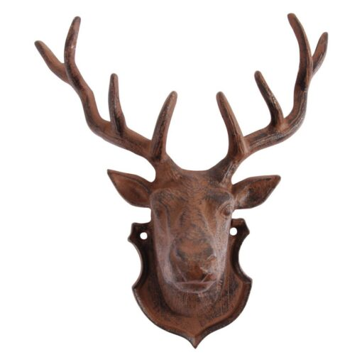 Cast Iron Stag Head