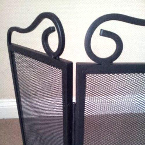 """23"""" Three Fold Fire Screen Spark Guard"""