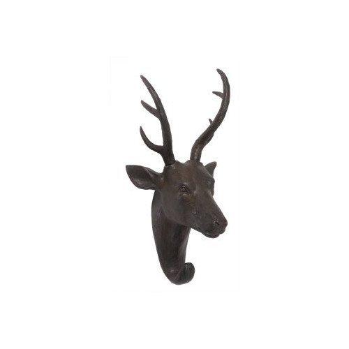 'Artisanti Deer Head Hooks' Wall Art