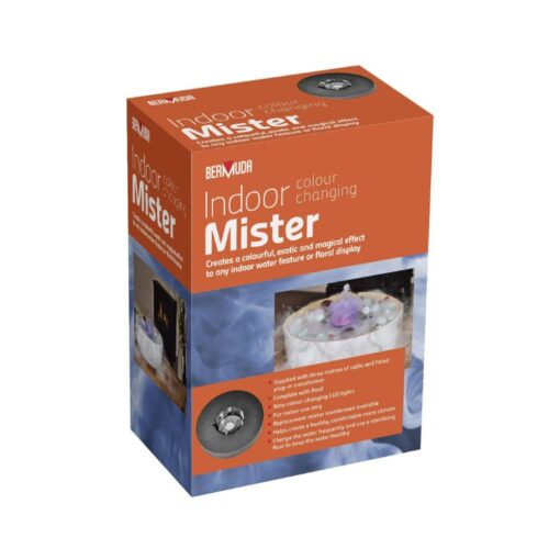 Indoor Colour Changing Mister with Floating Ring