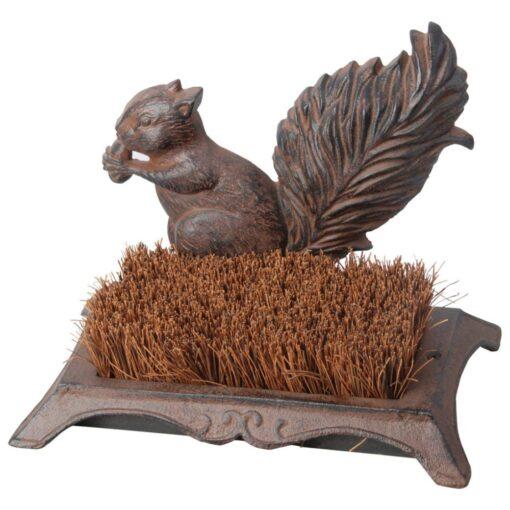 Eating Squirrel Boot Brush