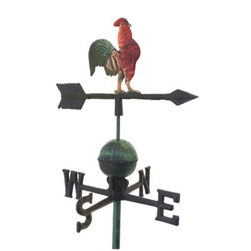 Antique Rooster Cockerel Weather Vane