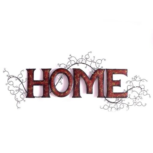 Home Red & Gold Wall Art