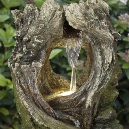 Weaving Wood Water Fountain