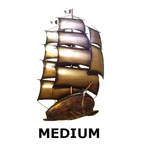 Metal Wall Art - Imperial Galleon