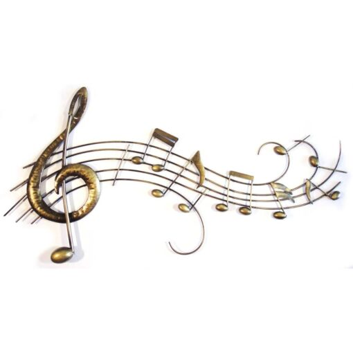 Musical Notes Score Scroll Wall Art