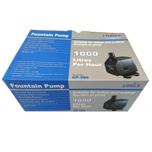 Lorice Water Feature Pump 1000 L/H