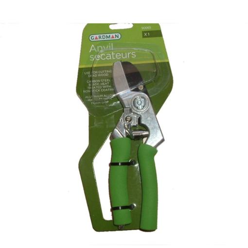 Soft Grip Anvil Secateurs