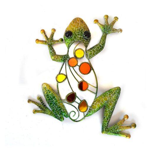 Green Glitter Frog Wall Art
