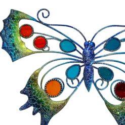 Blue Glitter Butterfly