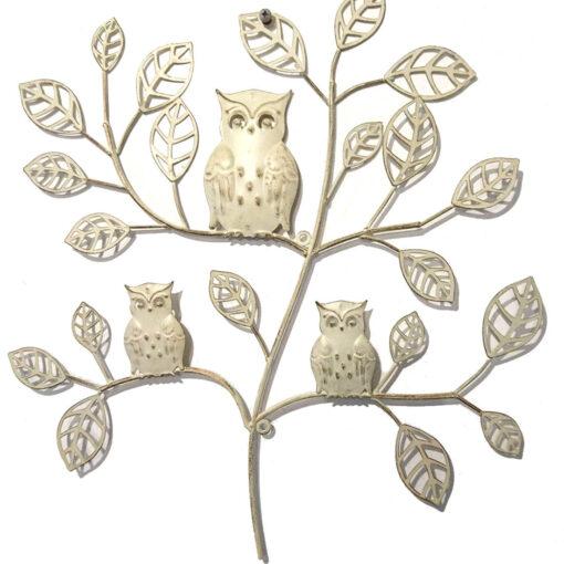 Three Owls in a Tree