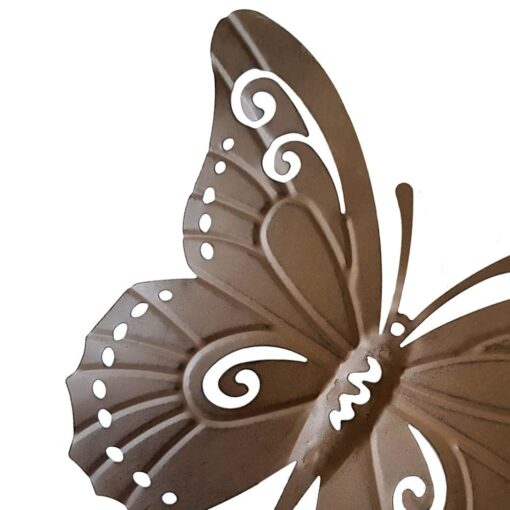 Rustic Iron Butterfly