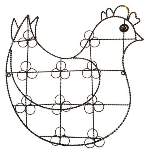 Chicken Greeting Card Holder