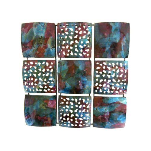 Abstract Nine Grid Panel