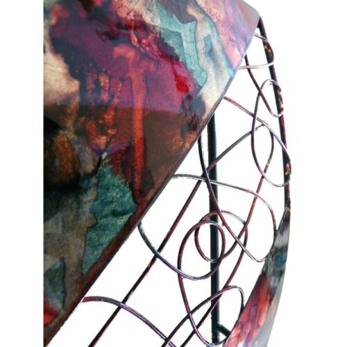 Three Square Abstract Panel