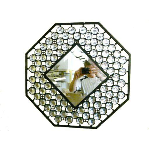Octagonal Diamond Mirror