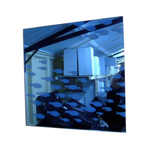 Square Fish Shoal Mirror
