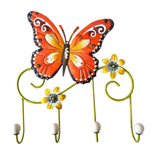 Butterfly and Flowers Hooks Set