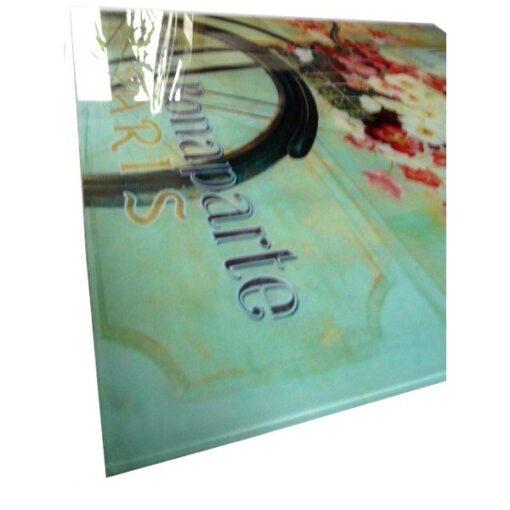 Glass Print 'Flower Shop I' Wall Art