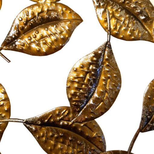 Cluster of Gold Leaves Wall Art