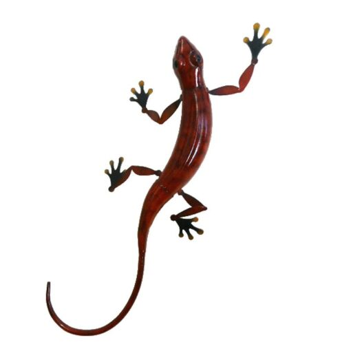 Large Red Gecko Wall Art