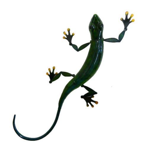 Large Green Gecko Wall Art