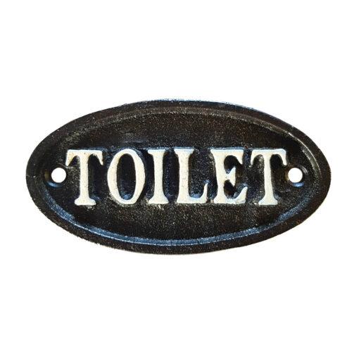 Cast Iron Toilet Pub Sign