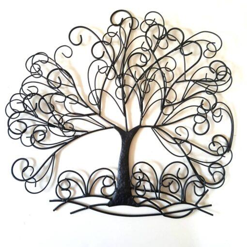 Swirling Tree Wall Art