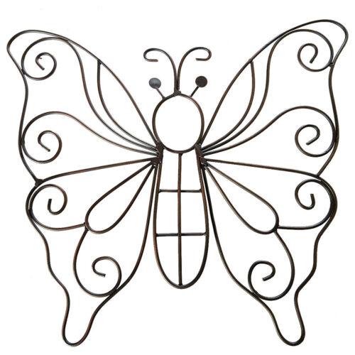 Iron Swirl Butterfly
