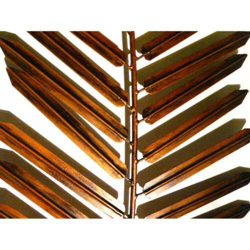 Autumn Palm Leaf