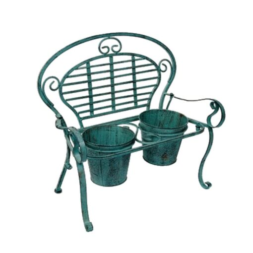 Duel Green Bench Planter