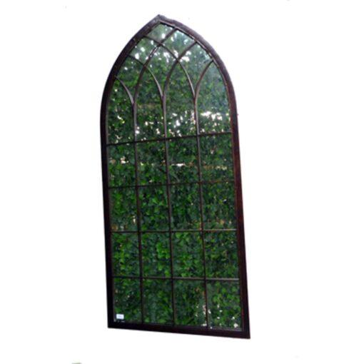 Gothic Arch Window Mirror