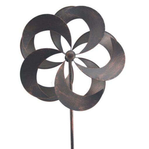 Standing Iron Garden Wind Spinner