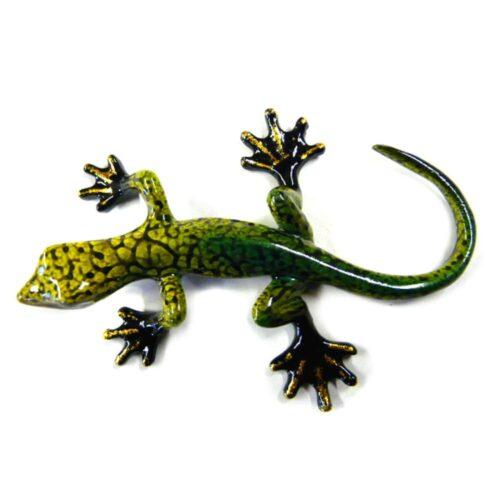 Rainbow Gecko Ornament B