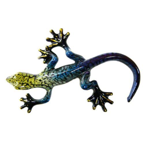 Rainbow Gecko Ornament E