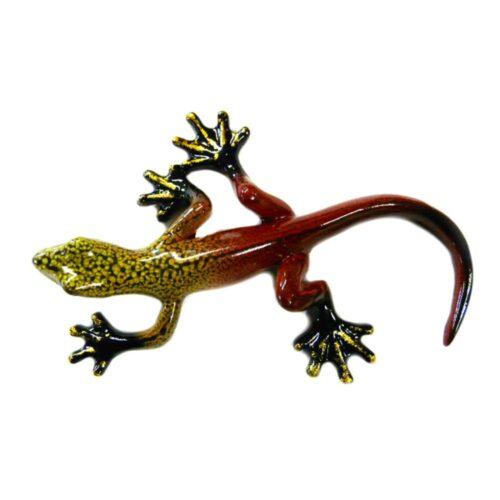 Rainbow Gecko Ornament F