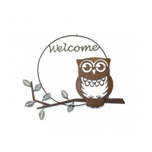 Welcome Owl on Branch