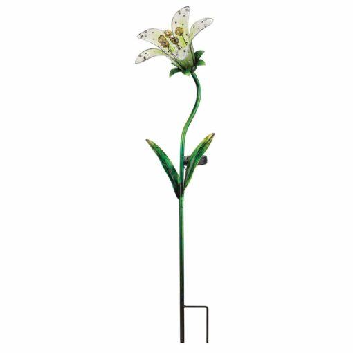 Creekwood Solar Tiger Lily Garden Stake
