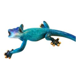 Small Gecko Speckled Blue