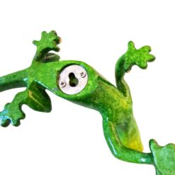 Small Gecko Speckled Green