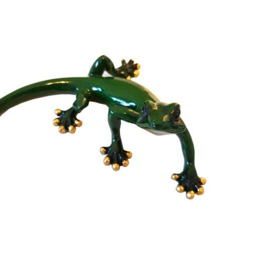 Small Gecko Green