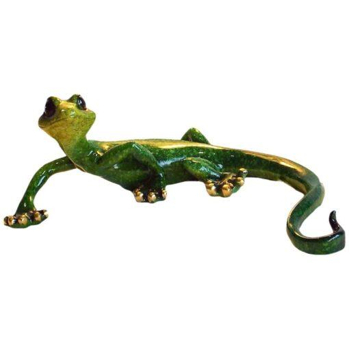 Medium Gecko Speckled Green