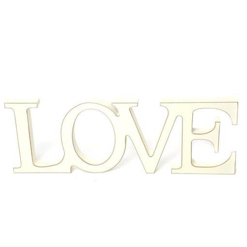 Freestanding Shabby Chic Love Sign
