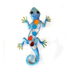 Blue Glitter Lizard